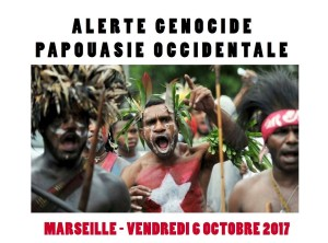 Affiche SOS Papouasie