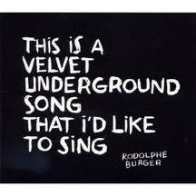 This is a velvet undergound song...