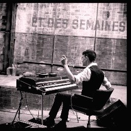 Louis Arlette piano Fender Rhodes